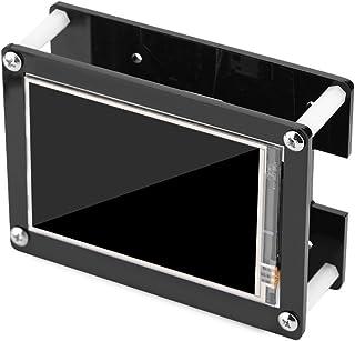 Bewinner 3.5 Pulgadas HDMI LCD para Raspberry Pi, 1080P IPS 60fps Pantalla LCD HDMI para Raspberry Pi + Estuche de Acrílico Negro, Resolución Ajustable