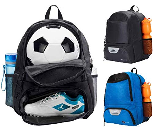 ERANT Soccer Bag for Girls – Soccer Backpack for Boys – Soccer Bags for Boys – Girls Soccer Bags with Ball Holder – Soccer Backpack for Girls – Kids Soccer Bag Kids - Soccer Backpacks with Ball Holder