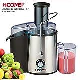 Hoomei Centrifuga Freddo 850 Watt 1.7 Liter, Entsafter für Obst und Gemüse, 2 Behälter,...