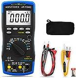 Multímetro Digital Automático/Manual Rango AP-770HC 6000 Cuenta Voltímetro Tester Digital para NCV DC AC Voltaje Corriente Resistencia Temperatura Capacitancia Diodo hFE Continuidad Ciclo de Trabajo