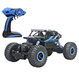 Hugine 2.4Ghz 1/18 Scale RC Rock Crawler Vehicle Toy 4 WD Fast Race