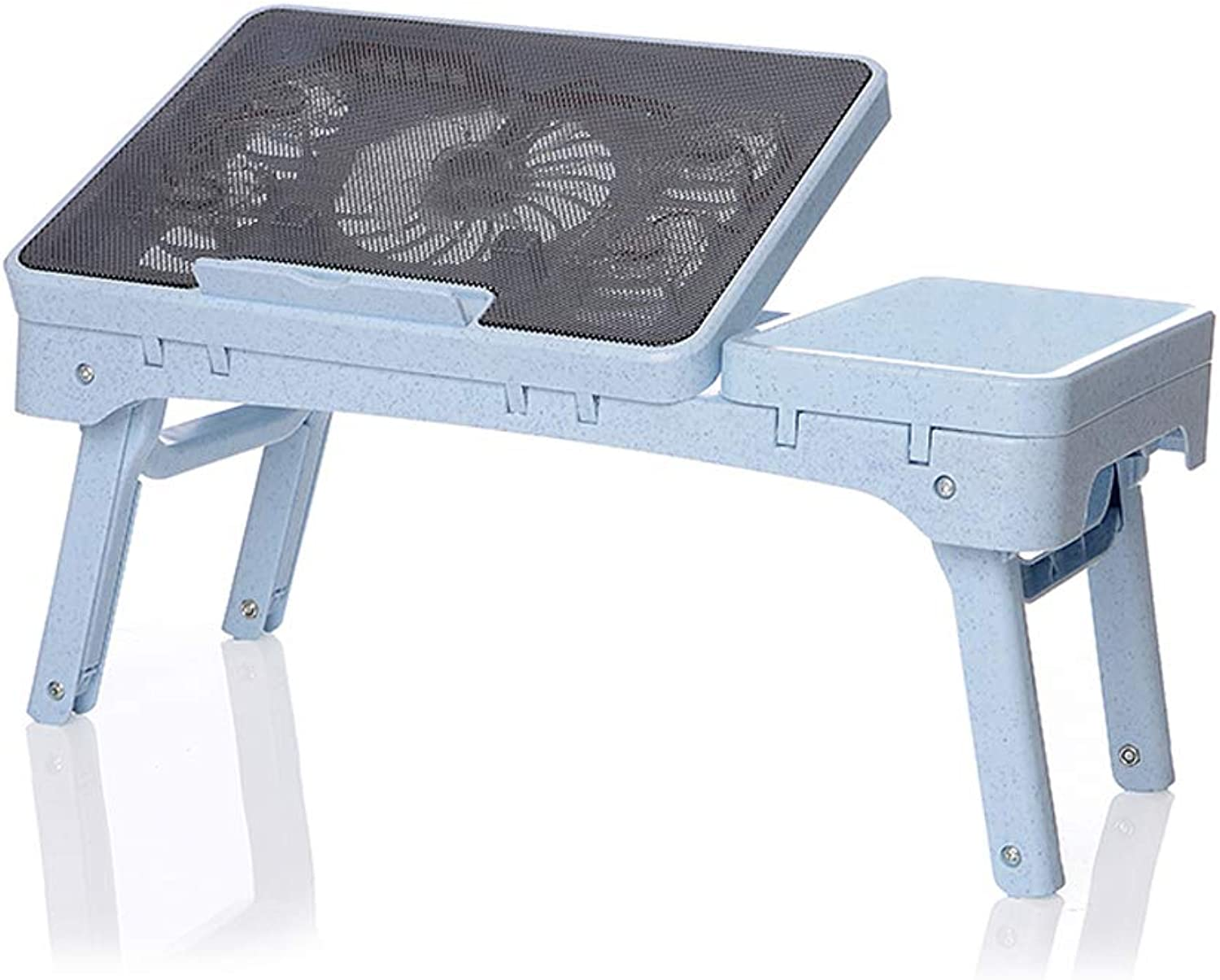 Computer Desk Cooling Laptop Desk with Dormitory Desk folding table Portable Mobile Small Table