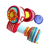 Lfives Kind Spielzeug Puppen Baby Handbell Farbe Multi-Funktions-Baby Hantel Barbell Baby Spielzeug...
