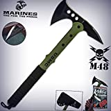 New Cool Usmc M48 Survival Camping Tomahawk Axe Battle Hatchet Hunting Pro Tactical Elite Knife for Home Camping Hunting Rescue + free Ebook by ProTactical'US