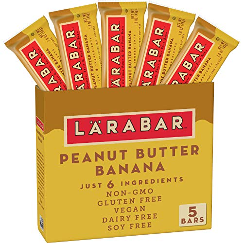 Larabar Fruit and Nut Bar, Peanut Butter Banana, Gluten Free, Vegan, 5 ct, 8 oz