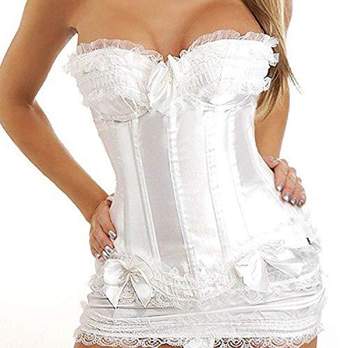 Vestido De Novia Corset Y Falda