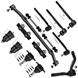 Scitoo 14PCS Front Suspension Kit and Pitman Arm Kit Ball Joints and Tie Rod Ends Sway Bar Center Link Kit Idler Arm Kit fit 1978-1988 Chevrolet Monte Carlo 14PCS