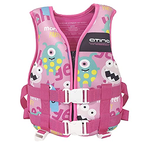 Chnrong Chaleco de natación para niños, chaleco de natación para niños con correa de entrepierna, chaquetas de natación para niños, chaqueta de verano para deportes acuáticos