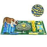 alfombra olfato perro mediano