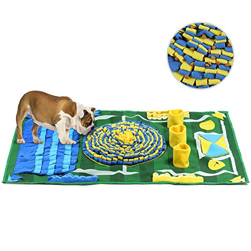 YOUTHINK Schnüffelteppich für Hunde, Schnüffelrasen Groß Riechen Trainieren Matte Fördert Natürliche Nahrungssuche für Haustier, Hunde...
