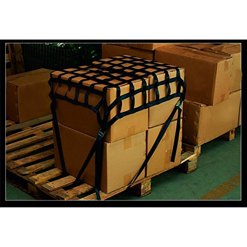 Ladungssicherungsnetz / Gurtbandnetz klein für PKW oder Caddy Gurtbandnetz klein