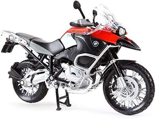 Toy Boy, niña, niño, coches Modeleducational Juguetes, modelo de coche modelo de la motocicleta colección del regalo del modelo de coche de 2 R1200GS Agua Bird Road Locomotora Simulación de aleación C