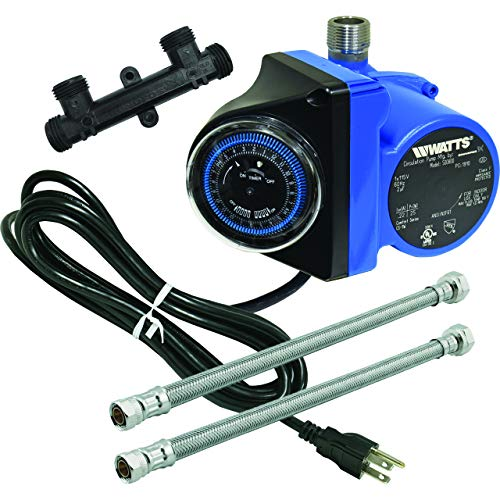 Watts Premier Instant Hot Water Recirculating Pump System with Built-In