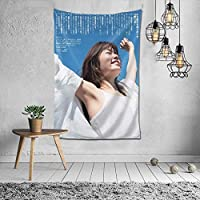 小芝風花(Koshiba Fuka) タペストリー インテリア 壁掛け おしゃれ 室内装飾 多機能 寝室 カーテン おしゃれ 個性ギフト 新築祝い 結婚祝い プレゼント ウォール アート(60in*40in)