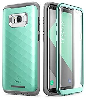 Samsung Galaxy S8 Plus Case Clayco [Hera Series] Full-Body Rugged Case with Built-in Screen Protector for Samsung Galaxy S8 Plus  2017 Release   MintGreen