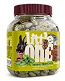 Little One Snack Herbal Crunchies para Animales pequeños 100 g