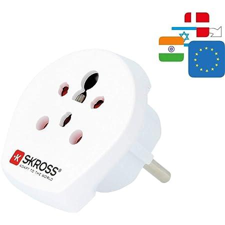 Kwmobile 2x Reiseadapter Indien Typ D Schuko Reise Elektronik