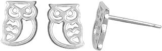 Best sterling silver owl earrings Reviews