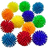 Kicko Mini Porcupine Hedgehog Ball - 36 Pack - 1.3 Inch - for Kids, Party Favors, Stocking Stuffers, Classroom Prizes, Decorations, Birthday Supplies, Holidays, Pinata Fillers, and Rewards