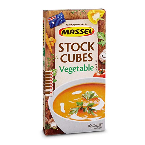 Massel, Ultracube Stock Cubes - Gluten-Free, Vegetable Style Broth - 105g, Pack of 12, Soup Stock
