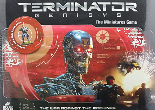 River Horse Games Terminator Genisys The War Against The Machines - Tabletop Game