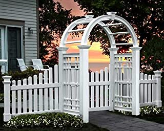 New England Westchester Arbor with Wings and Gate
