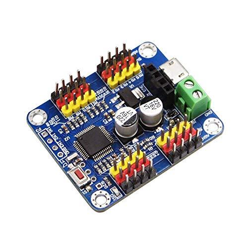 VIDOO 16 Channel Pwm Servo Motor Driver Controller Board TTL Bluetooth PCB Module Für Arduino Robot