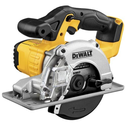 DEWALT 20V MAX 5-1/2-Inch Circular Saw, Metal Cutting, Tool Only (DCS373B)