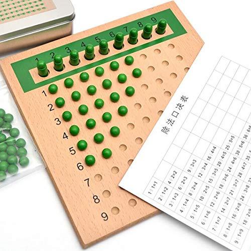 KINGDUO Madera Montessori Educativo Juguete Suma Resta Familia Juego De Mesa Juguete Set-1
