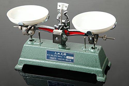 YAWATA 上皿天秤 秤量500g 分銅セットなし U-500G