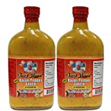 Aunt May's Bajan Hot Pepper Sauce 12oz (Pack of 2)