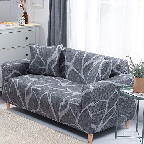 ASCV sofföverdrag stretch säte sofföverdrag fåtölj möbler överdrag soffa handduk 1/2/3/4 sits A2 2-sits