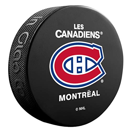 Montreal Canadiens Basic Sammler NHL Hockey Puck French