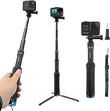 AFAITH Wasserdichte Selfie Stick Stativ Verlängerung Aluminiumlegierung Handgriff..