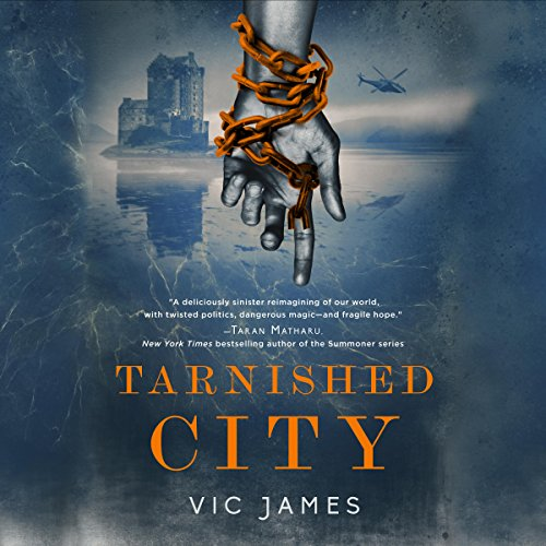 Tarnished City audiobook cover art