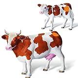 Ravensburger tiptoi® 2-teiliges Set Spielfiguren Fleckvieh Kuhfamilie mit Fleckvieh-Kuh & Kalb