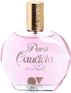 Perfume de mujer originales Pura Candela con feromonas colonia femenina esencia a rosas y talco fragancia especial.