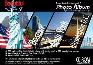 CD-ROM ビューティフルUSA フォトアルバム(Boston,NYC,Washington DC) [DVD]