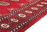 Nain Trading Pakistan Buchara 2ply 231x76 Orientteppich Teppich Läufer Rost/Rosa Handgeknüpft Pakistan - 7