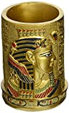 Design Toscano QL1244 Egyptian Pharaoh Pen Vessel,full color