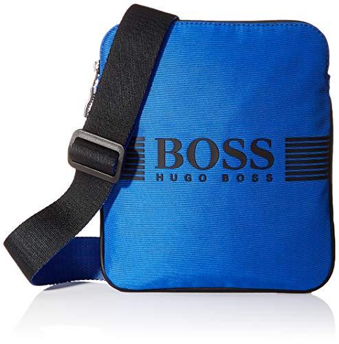 BOSS heren Pixel_s Zip Env Bw schoudertas, blauw (medium blauw), 1x23,5 x 19,5 cm