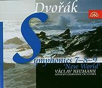 ドヴォルザーク:交響曲第7番~第9番「新世界より」 (2CD) [Import]/Dvorak: Symphonies