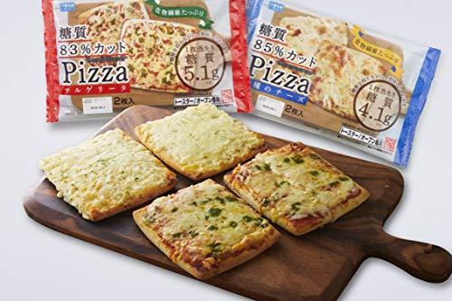シャトレーゼ(糖質オフ) 糖質カットのピザ詰合せ 2種類4袋入
