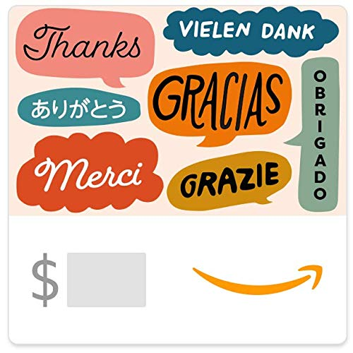 Amazon eGift Card - Global Thanks