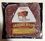 Bison 100% Ground 80% Lean 16 Oz. Bricks - (12 Count)