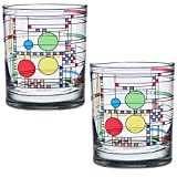 Frank Lloyd Wright DOF Double Old Fashioned Glass...