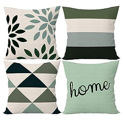 SIBOSUN Decorative Throw Pillow Covers 18 x 18 ...