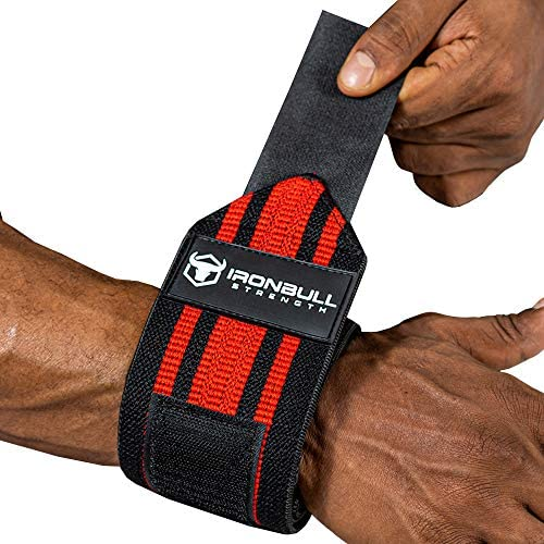 Iron Bull Strength Wrist Wraps for Weightlifting PRO Line Workout Wrist Straps for Weight Lifting product image
