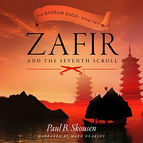 Zafir and the Seventh Scroll audiobook cover art