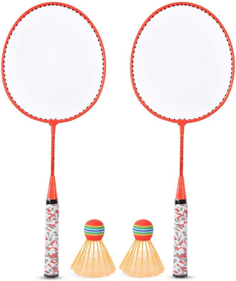 100% quality warranty! LZKW Badminton Racket Lightweight Trust Rackets Set for Spo